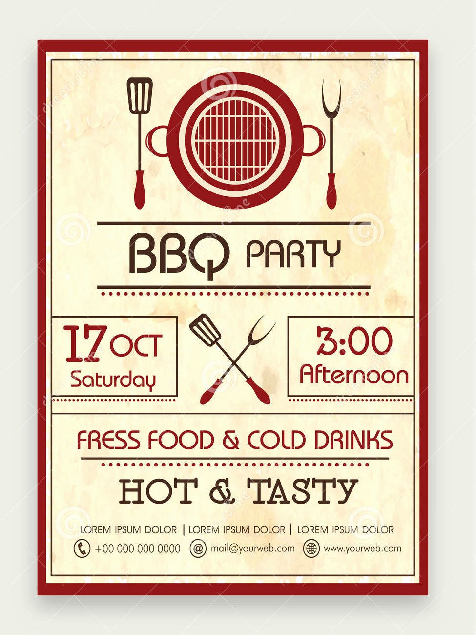 Bbq Catering Menu Template New 13 Bbq Menu Designs