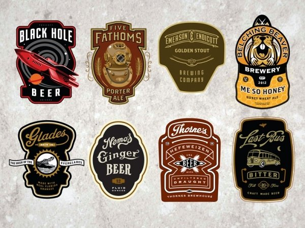 Beer Can Design Template New 23 Bottle Labels Psd Vector Eps Jpg Download