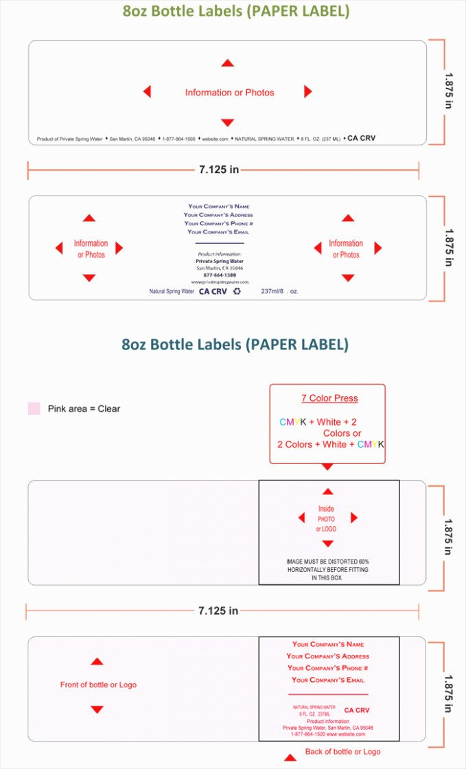 Beer Can Label Template Beautiful E Checklist that You Should