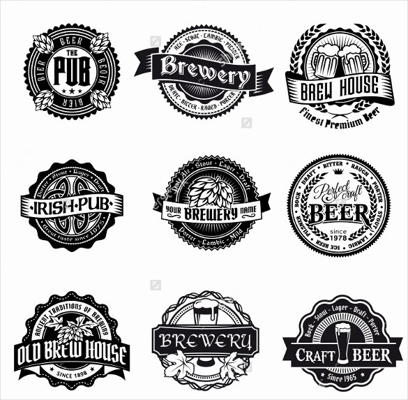 Beer Can Label Template Best Of Beer Label Template 27 Free Eps Psd Ai Illustrator