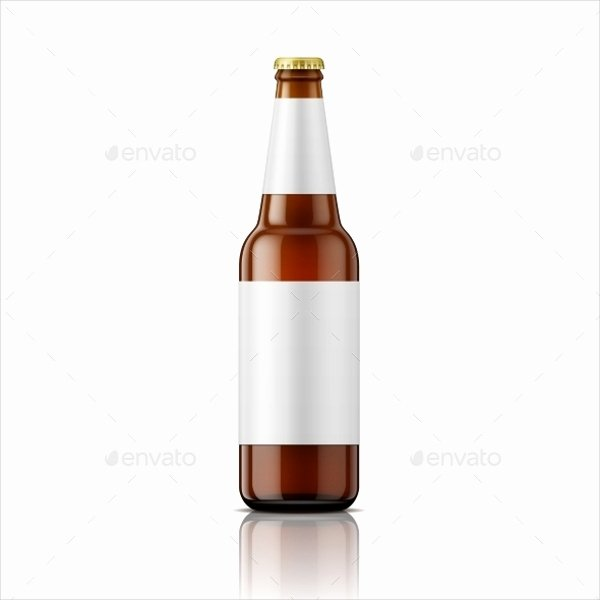 Beer Can Label Template Elegant 17 Bottle Label Templates Free Psd Ai Eps format