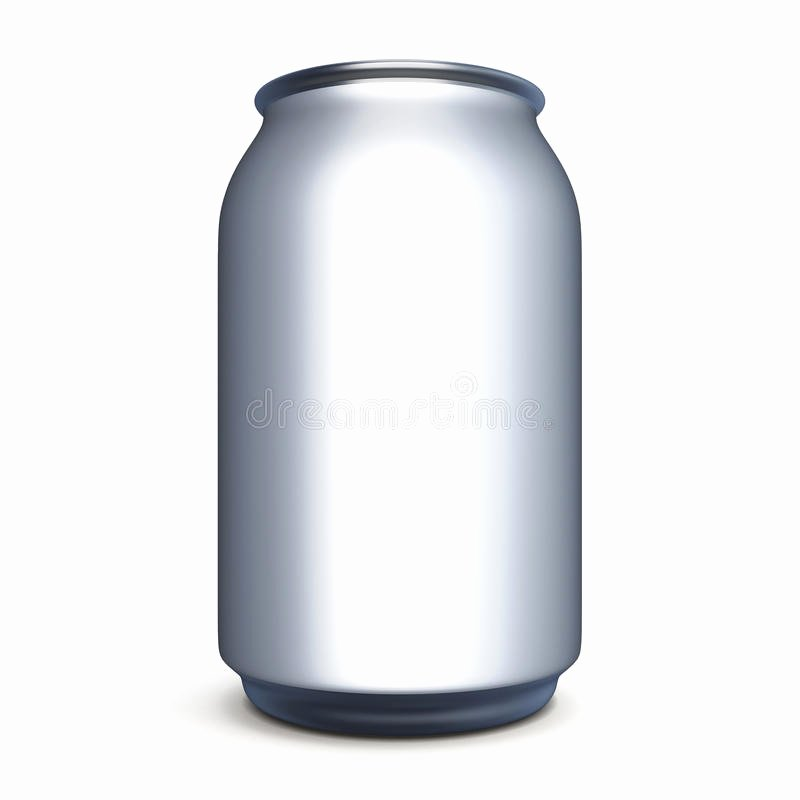 Beer Can Label Template Elegant Bank for Beer soda without Label for Design Stock