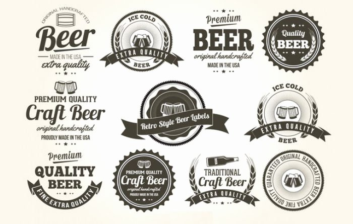 Beer Can Label Template Fresh 53 Label Design Templates