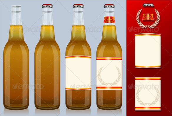 Beer Can Label Template Unique 29 Beer Label Templates – Free Sample Example format