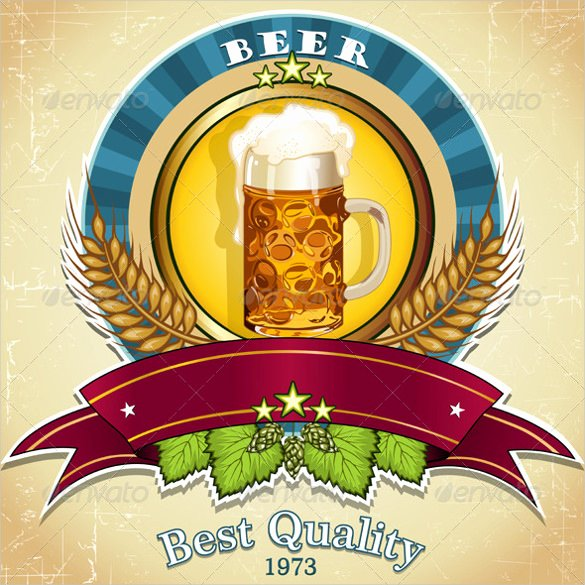 Beer Label Template Illustrator Best Of Beer Label Template 27 Free Eps Psd Ai Illustrator