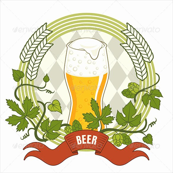 Beer Label Template Illustrator Best Of Beer Label Template