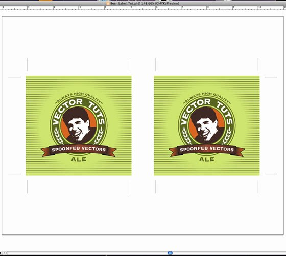 Beer Label Template Illustrator Fresh Design A Print Ready Beer Label In Adobe Illustrator