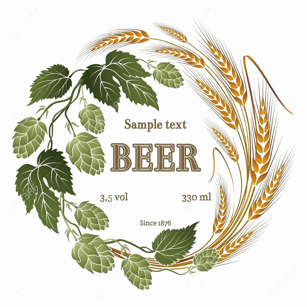 Beer Label Template Illustrator Lovely Beer Label Template Avery Template 5610