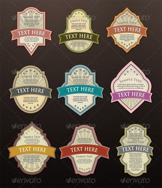 Beer Label Template Illustrator Unique Sample Printable Label Template 11 Download Documents