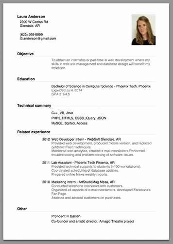 Beginner Acting Resume Template Luxury Beginner Acting Resume Sample source