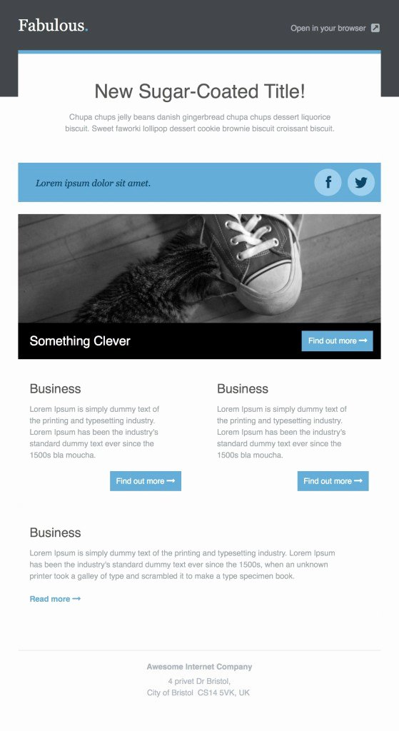 Best Email Template Designs Beautiful 36 Best Email Newsletter Templates Free Psd & HTML
