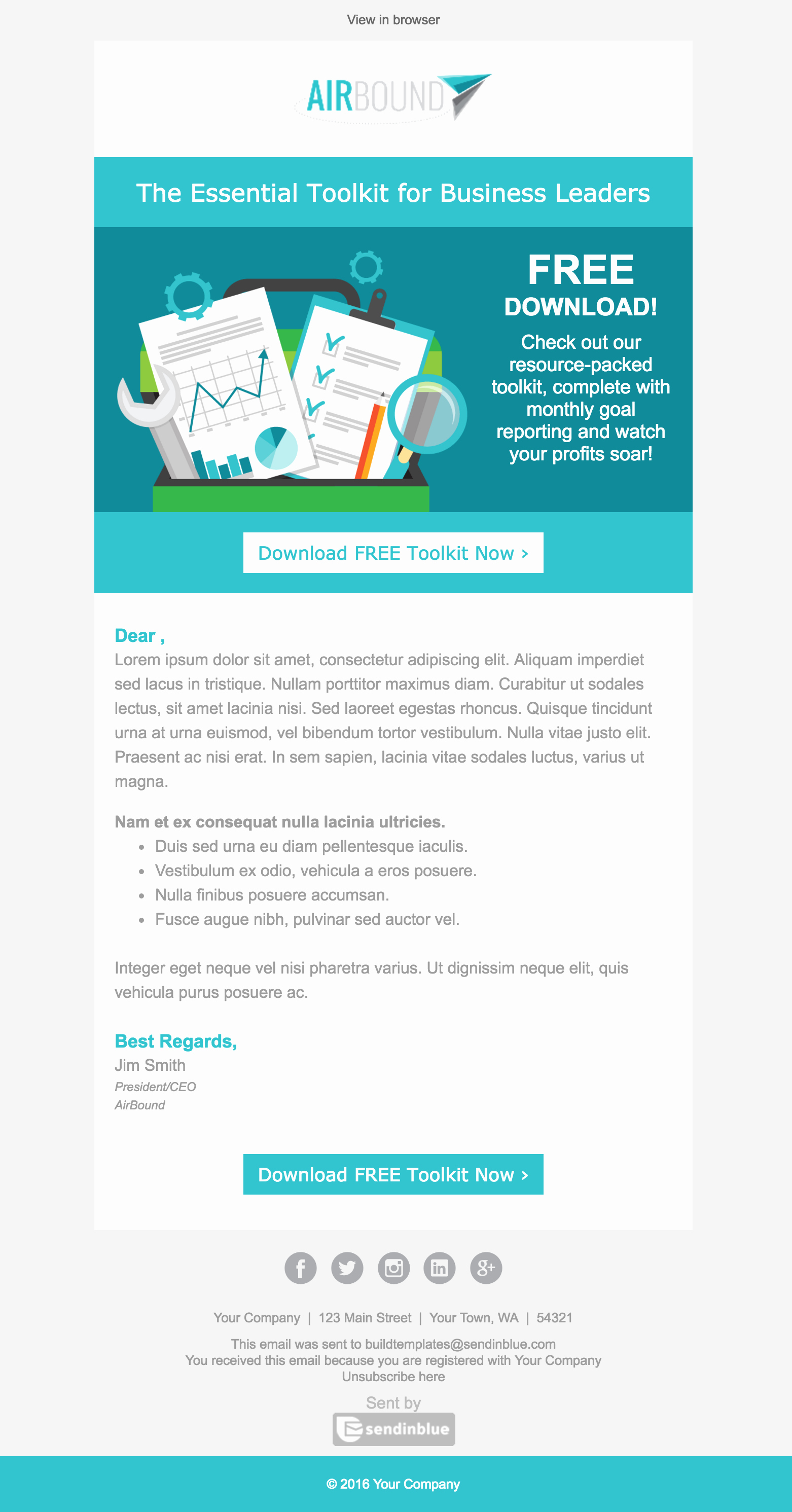 Best Email Template Designs Beautiful top 8 B2b Email Templates for Marketers In 2017