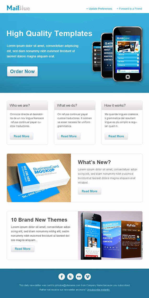 Best Email Template Designs Lovely 25 HTML and Psd Email Newsletters Psd Vector Eps Jpg