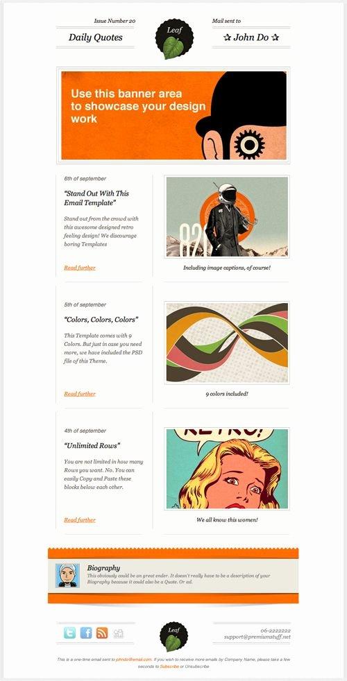 Best Email Template Designs Lovely 47 Best Email Newsletter Inspiration Images On Pinterest