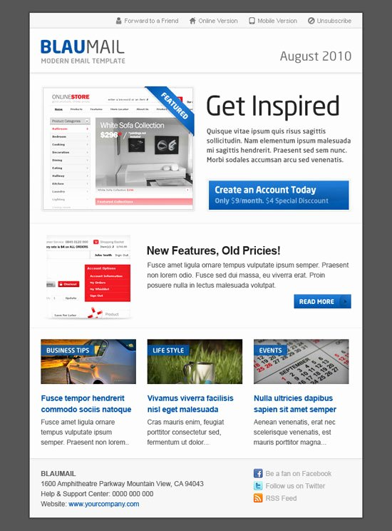 Best Email Template Designs Lovely Best Email Newsletter Templates for Your Brand Marketing