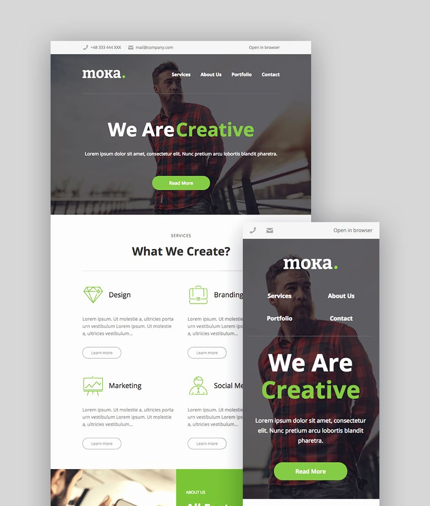 Best Email Template Designs Lovely Best Mailchimp Templates to Level Up Your Business Email