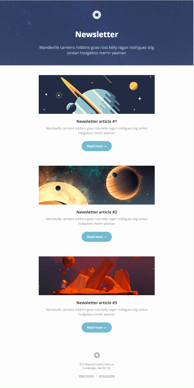 Best Email Template Designs Unique 13 Of the Best Email Newsletter Templates and Resources to
