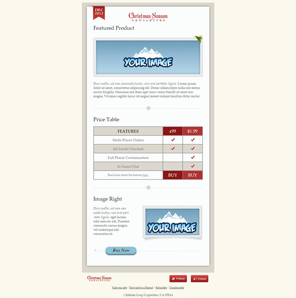 Best Email Template Designs Unique 33 Best Email Template Designs for Download Purchase