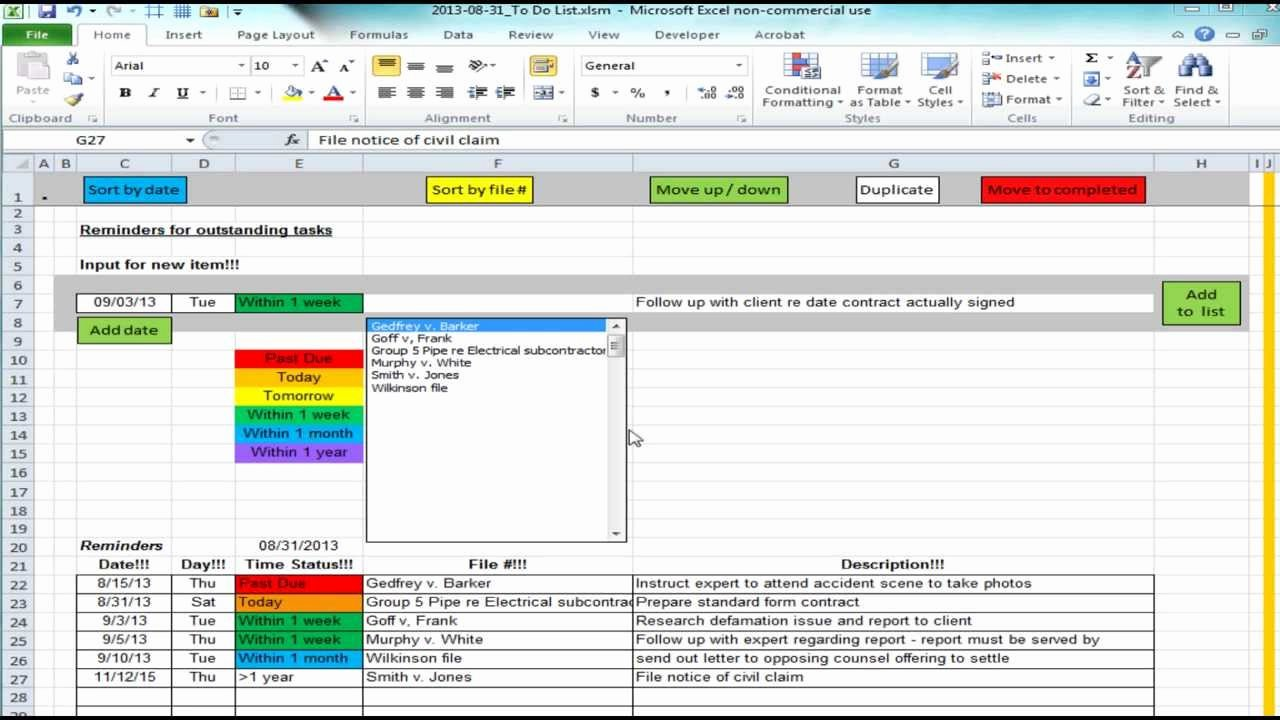 Best to Do List Template Awesome Excel Spreadsheet Providing List Of Reminders Future