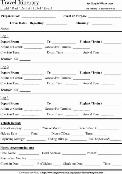 Best Travel Itinerary Template Beautiful Best 25 Travel Itinerary Template Ideas On Pinterest