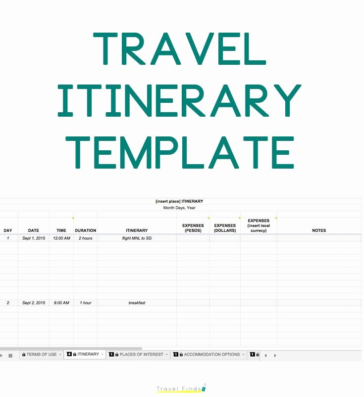 Best Travel Itinerary Template Elegant Best 25 Travel Itinerary Template Ideas On Pinterest