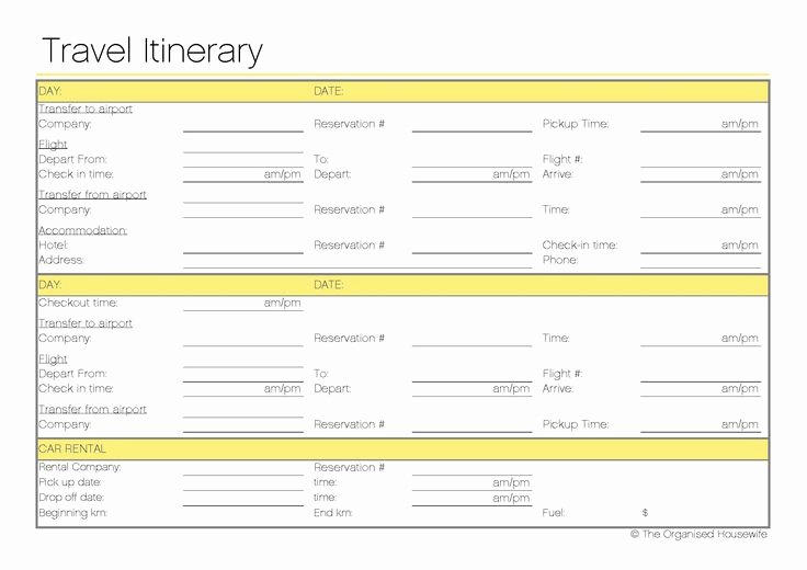 Best Travel Itinerary Template Lovely Best 25 Travel Itinerary Template Ideas On Pinterest