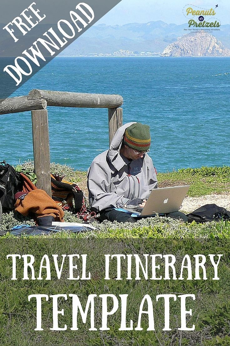 Best Travel Itinerary Template Unique 25 Best Ideas About Travel Itinerary Template On