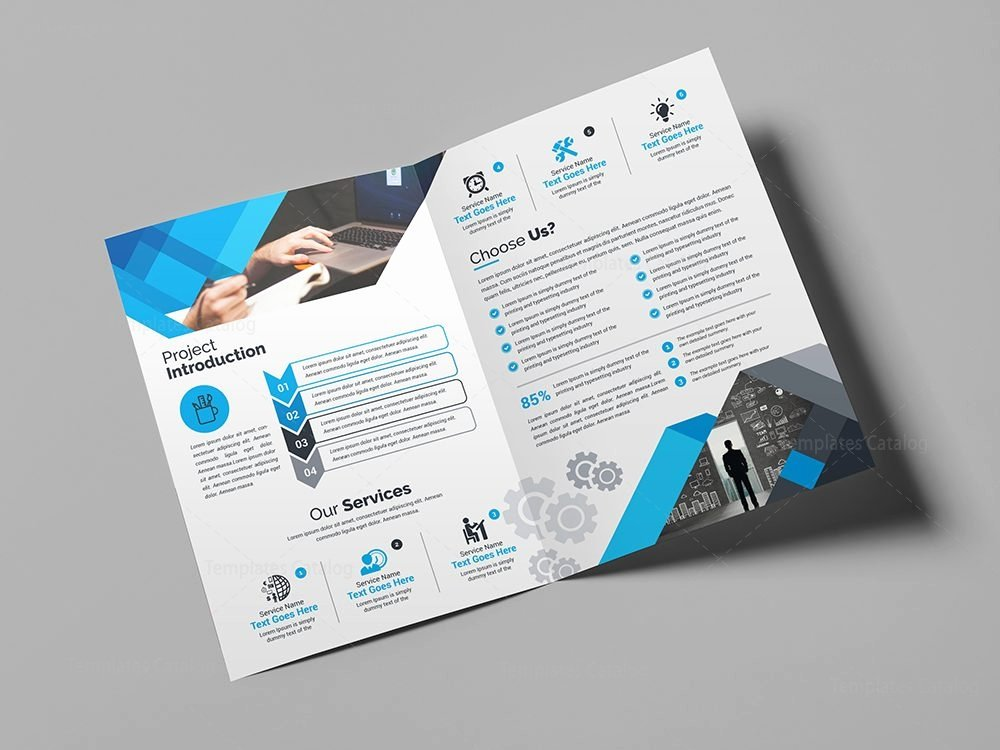Bi Fold Brochure Template Awesome Supernova Elegant Bi Fold Brochure Template