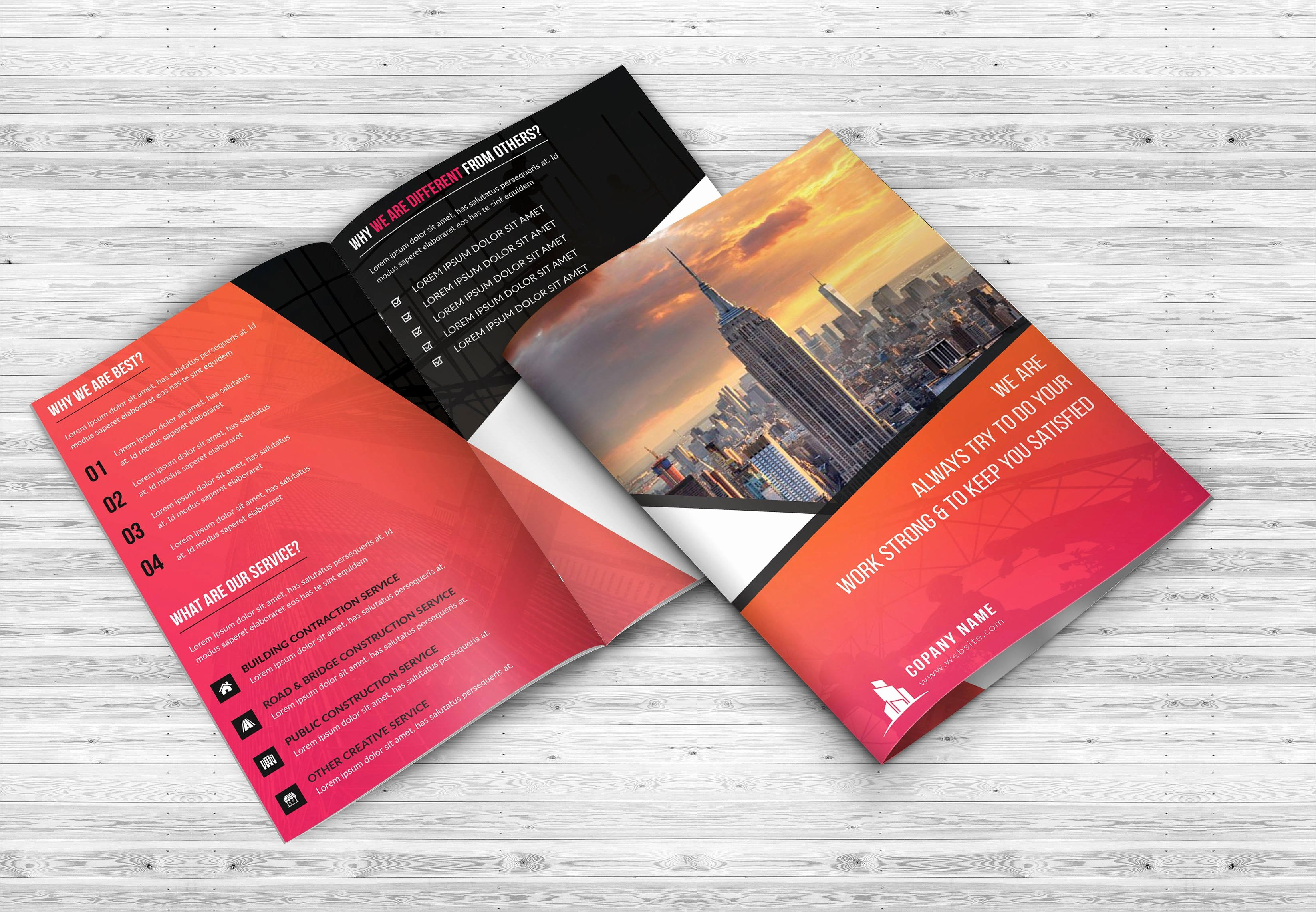 Bi Fold Brochure Template Best Of 11 Bi Fold Brochures Psd Png Vector Indd Eps format