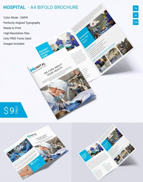 Bi Fold Brochure Template Inspirational Printable Bi Fold Brochure Template – 67 Free Word Psd