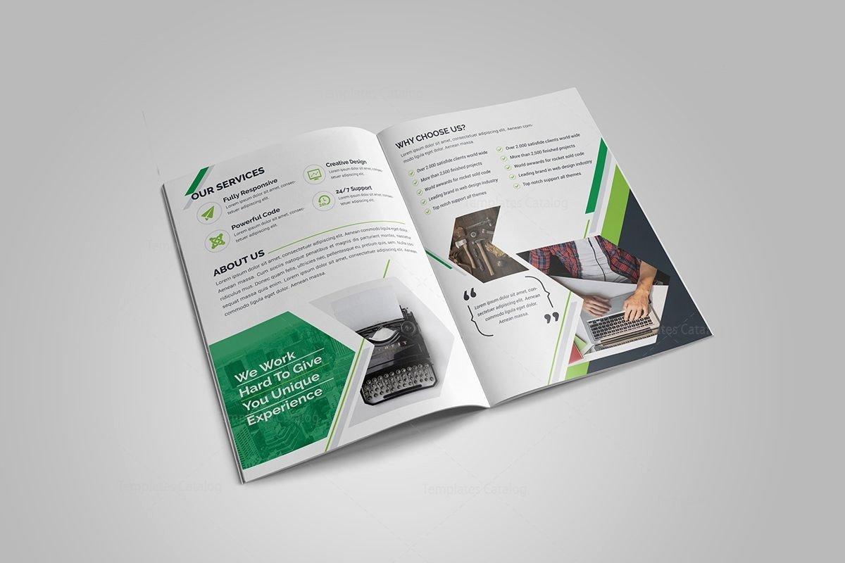 Bi Fold Brochure Template Lovely Sapphire Bi Fold Brochure Template Template Catalog