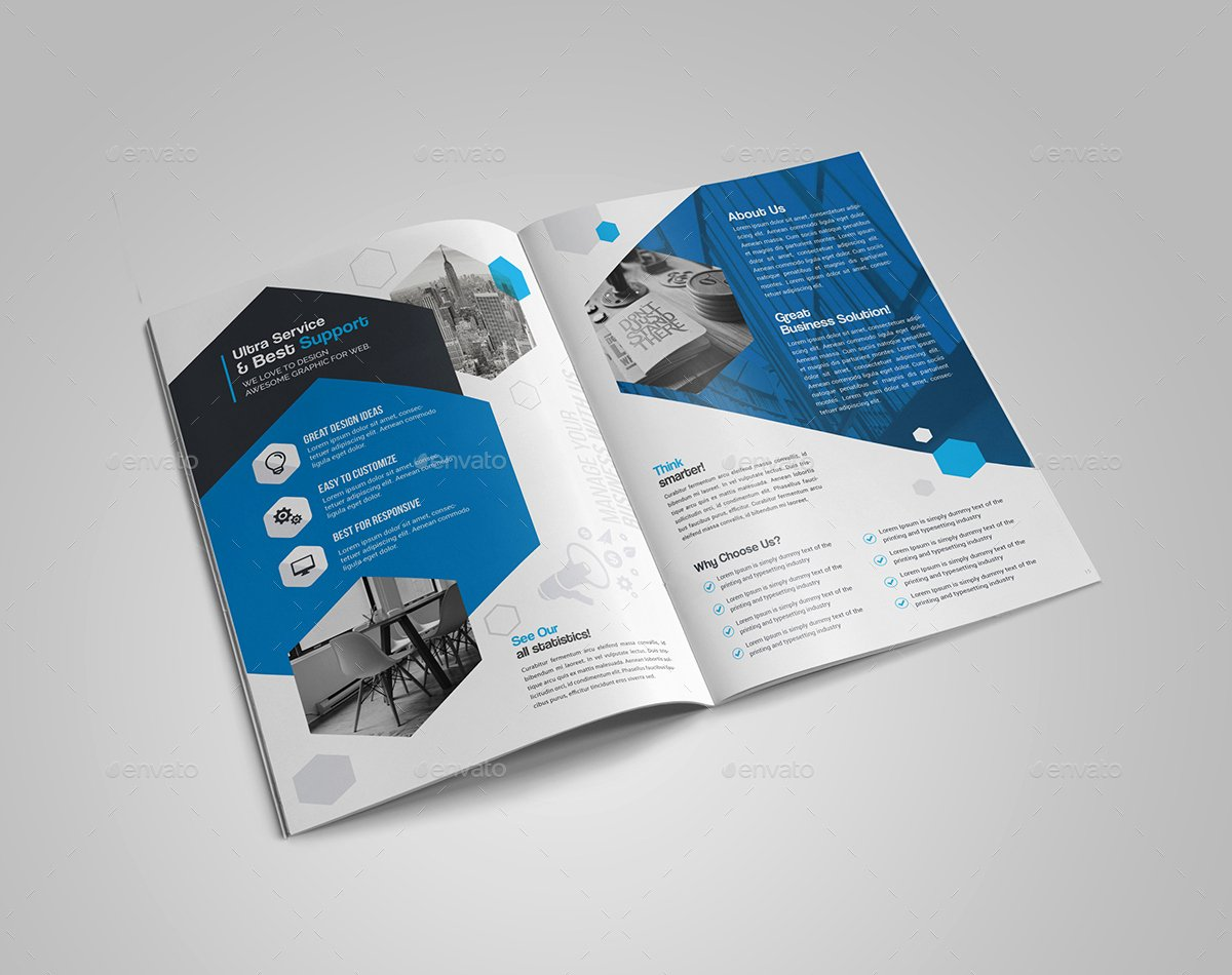 Bi Fold Brochure Template Luxury Template Bi Fold Brochure