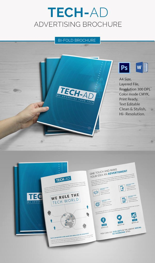 Bi Fold Brochure Template Unique Microsoft Brochure Template 34 Free Word Pdf Ppt