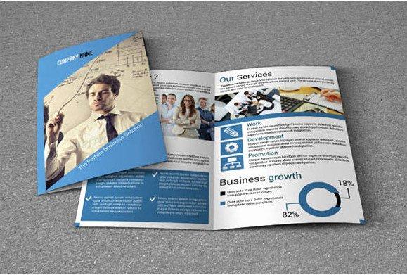 Bi Fold Menu Template Best Of Printable Bi Fold Brochure Templates 79 Free Word Psd