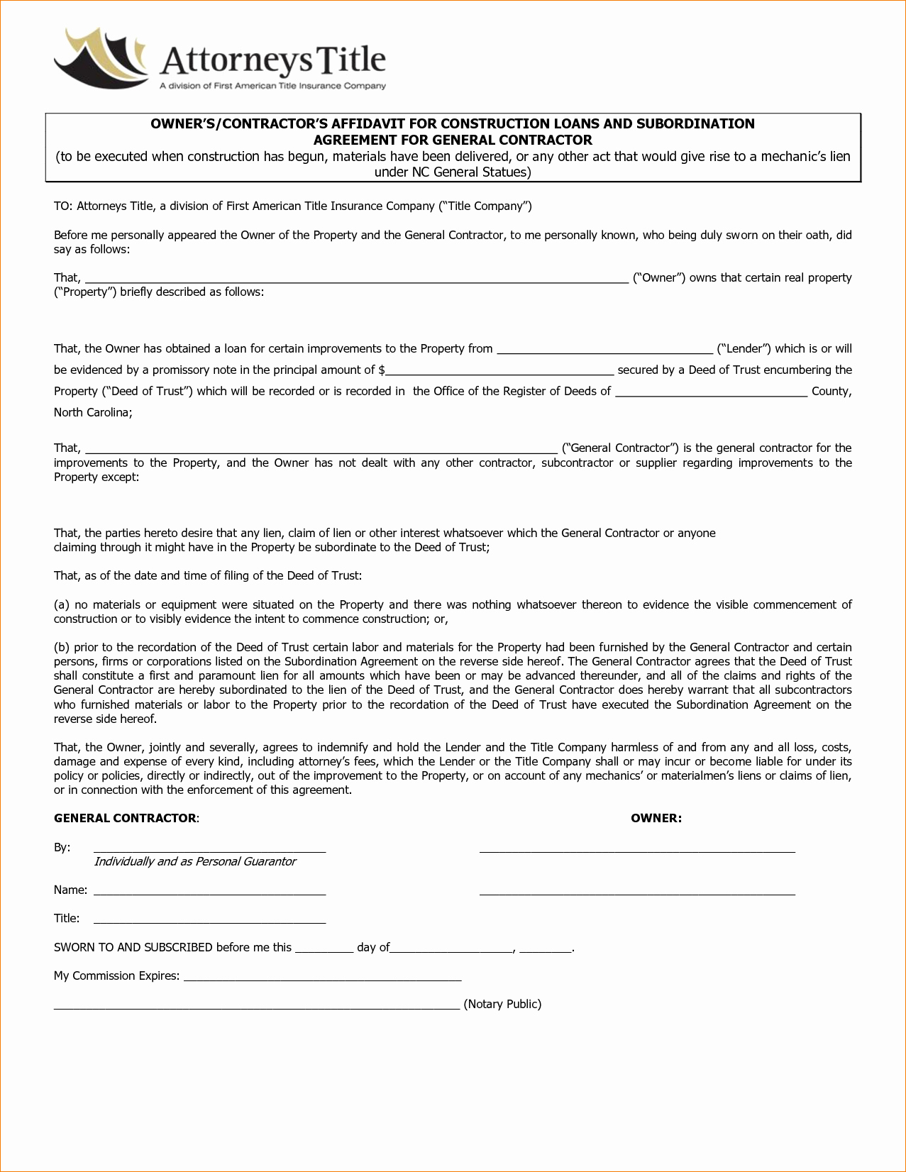Bid Template for Contractors Beautiful Contractor Agreement Template Featuring General Contractor