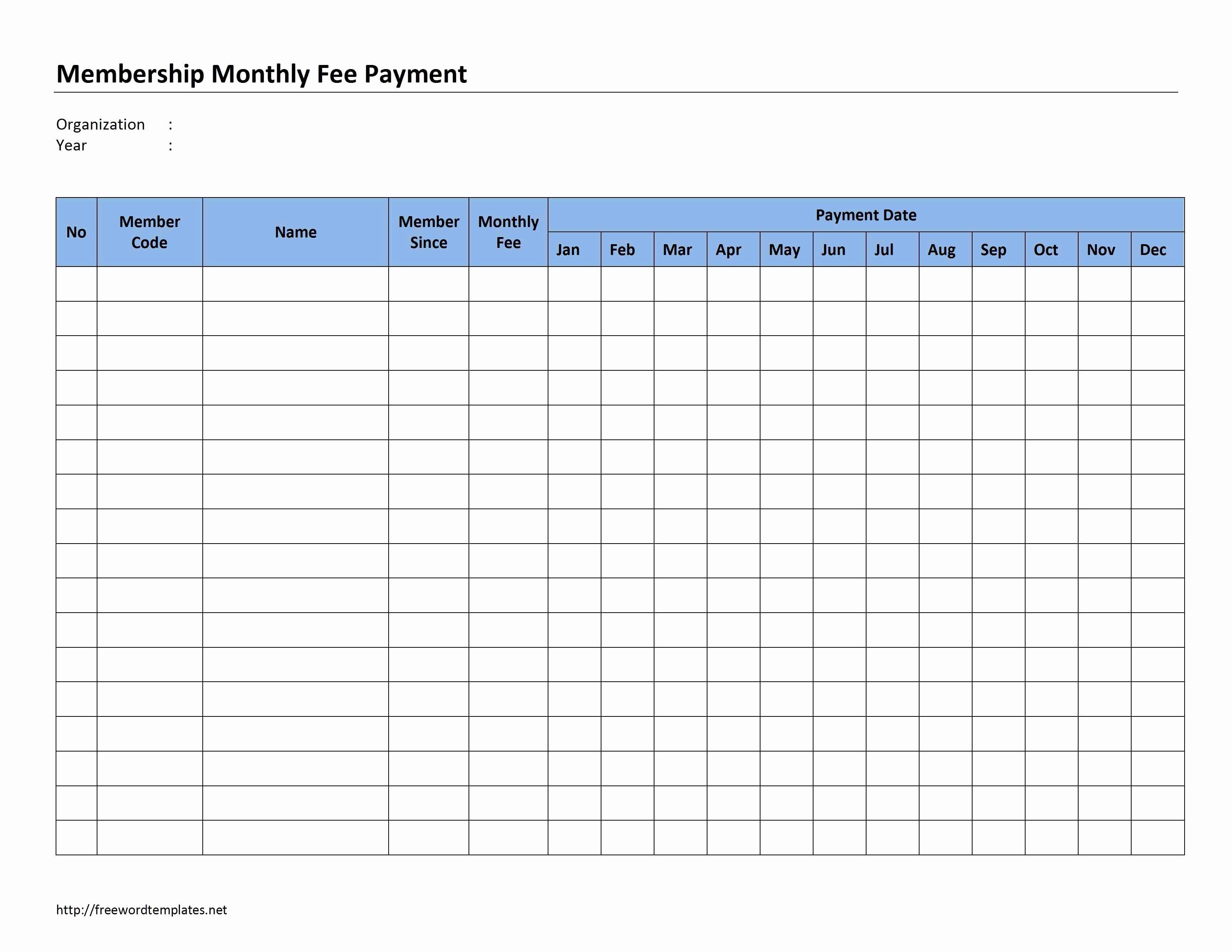 Bill Payment Template Free Elegant Bill Paying Calendar Template