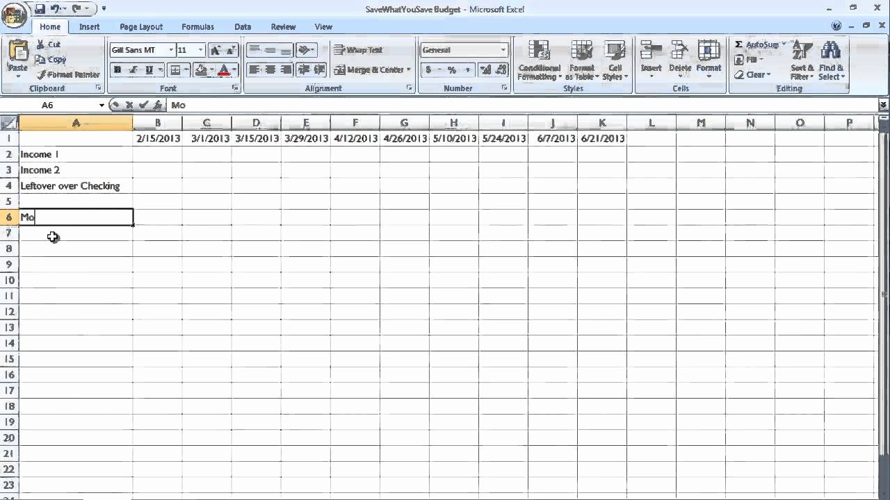 Bill Payment Template Free Inspirational Easy Bud Bill Payment Schedule for Real People