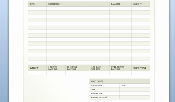 Billing Invoice Template Free New Billing Sheet Template for Word