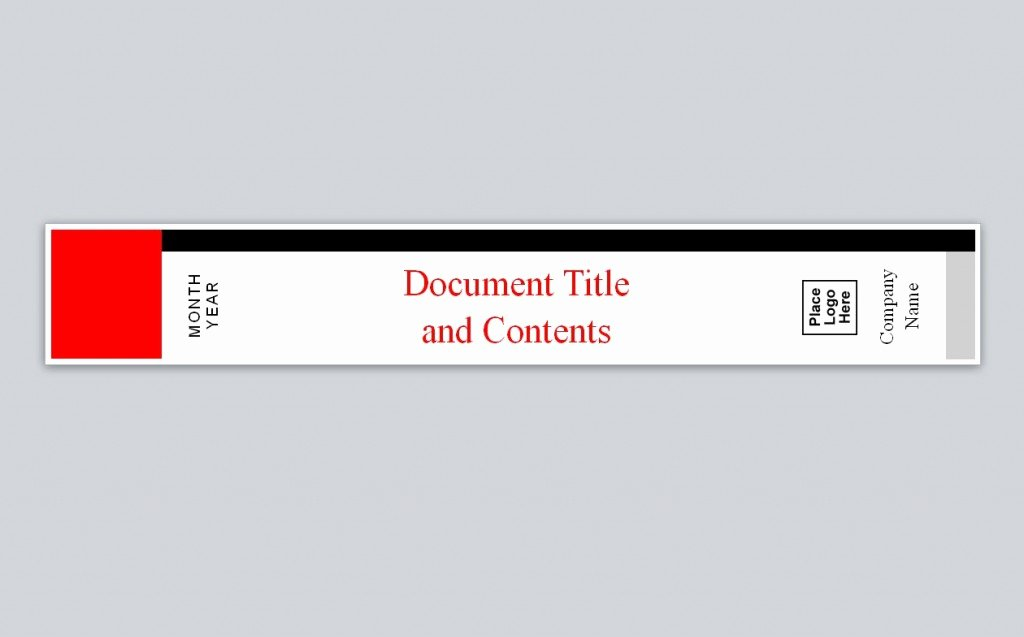 Binder Spine Label Template Beautiful Avery Binder Spine Template