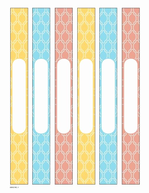 Binder Spine Label Template Fresh 25 Best Ideas About Binder Spine Labels On Pinterest