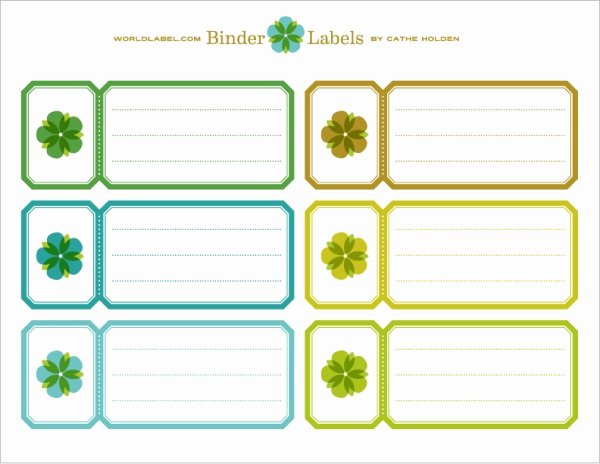 Binder Spine Label Template Fresh Binder Labels In A Vintage theme by Cathe Holden