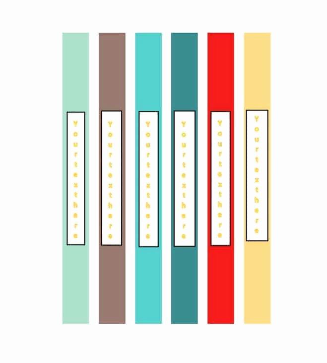 Binder Spine Label Template Inspirational 40 Binder Spine Label Templates In Word format Template