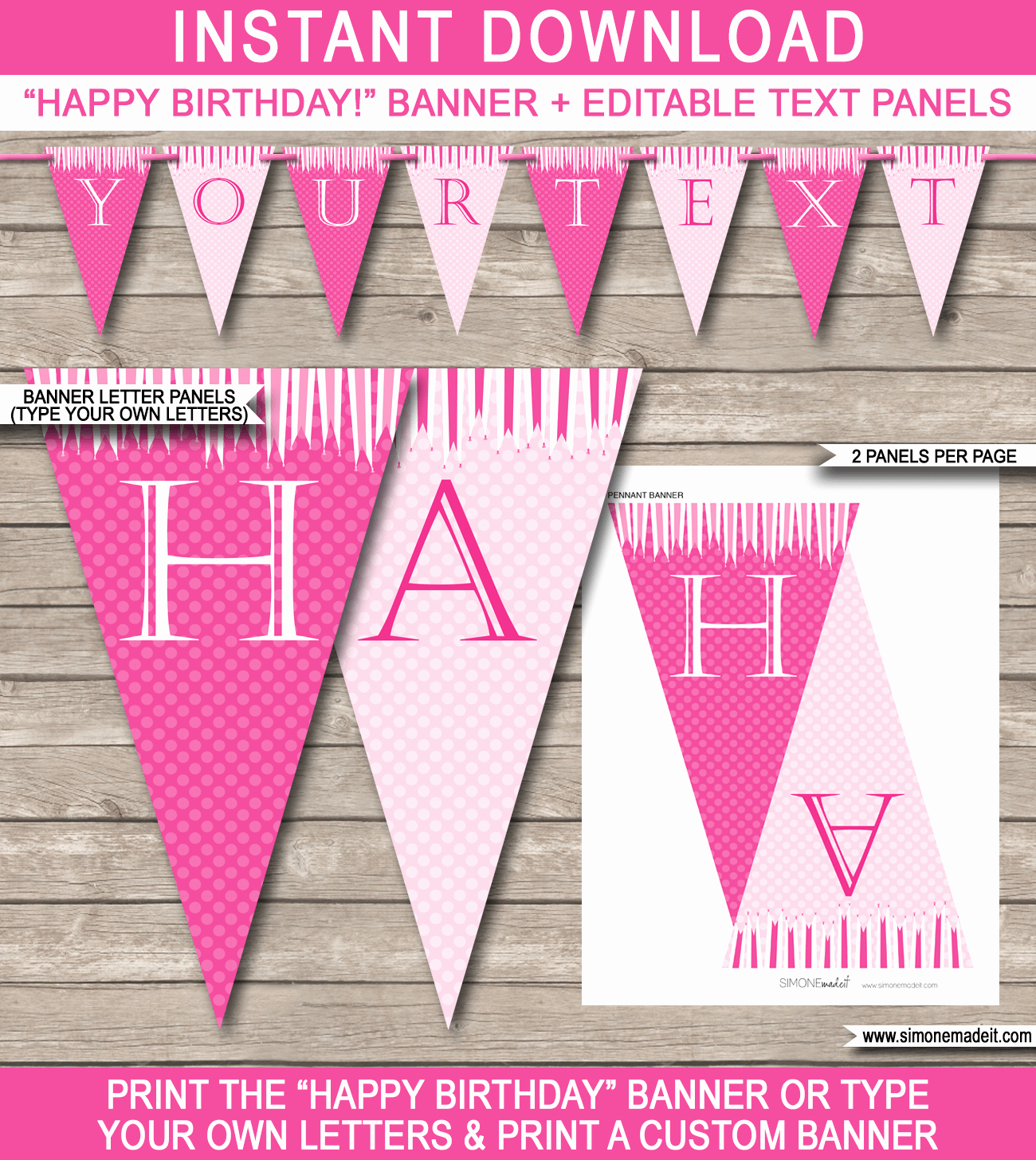 Birthday Banner Template Free Elegant Princess Party Banner Template