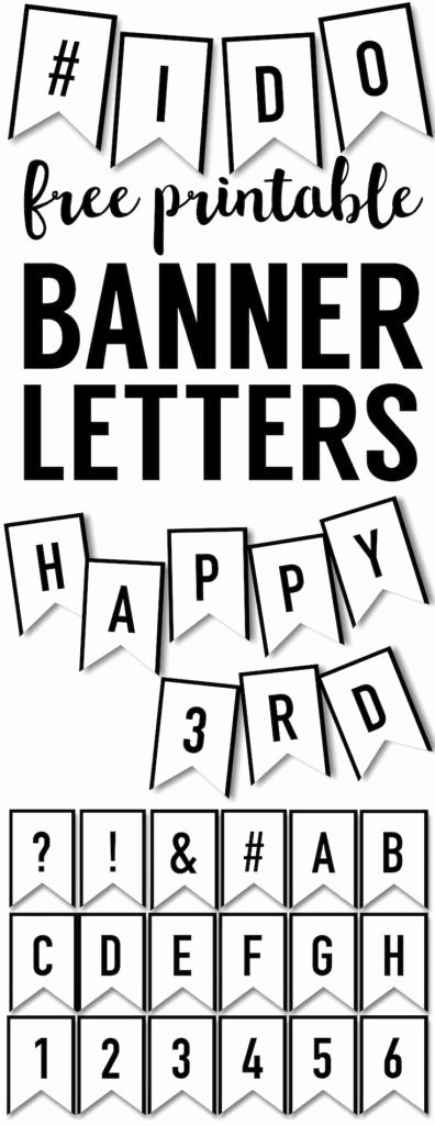 Birthday Banner Template Free Inspirational Banner Templates Free Printable Abc Letters