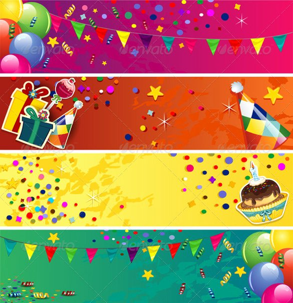 Birthday Banner Template Free Unique 21 Birthday Banner Templates – Free Sample Example