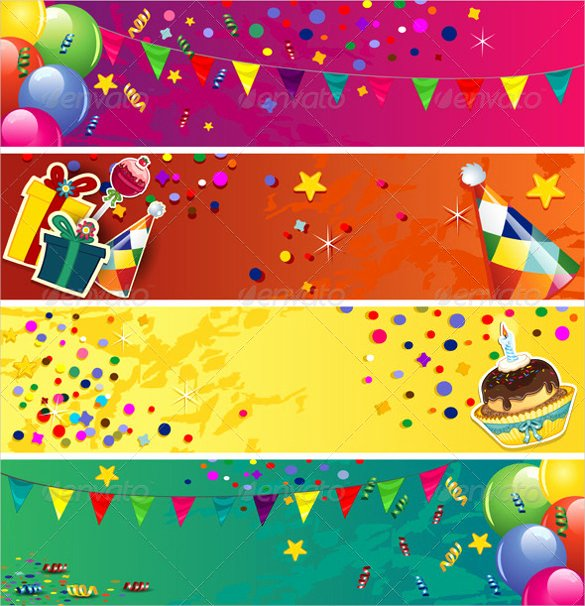 Birthday Banner Template Free Unique Birthday Banner Template – 23 Free Psd Eps In Design