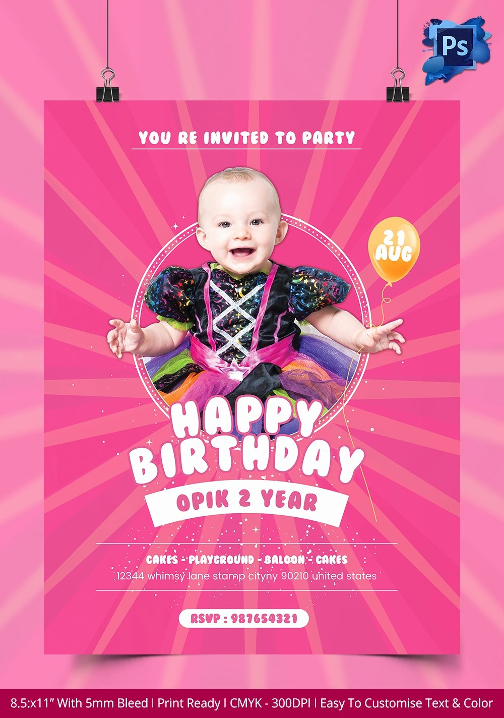Birthday Bash Flyer Template Beautiful 135 Psd Flyer Templates – Free Psd Eps Ai Indesign