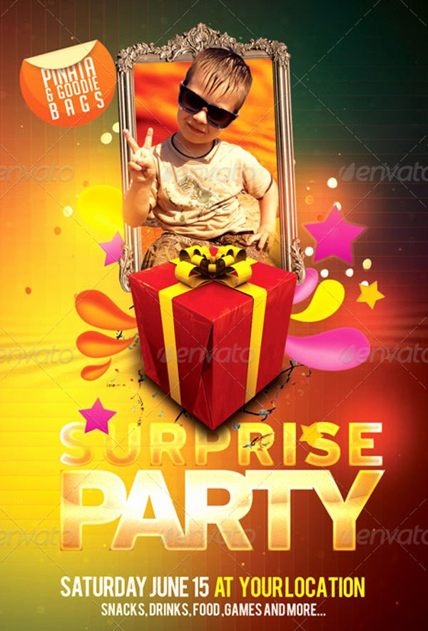 Birthday Bash Flyer Template Inspirational 10 Birthday Party Flyers Design Templates