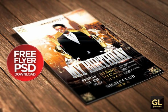 Birthday Bash Flyer Template Lovely 25 Free Shop Party Flyer Templates