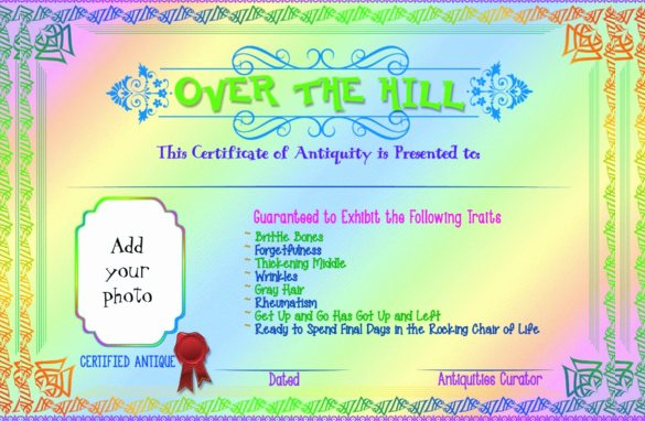 Birthday Gift Certificate Template Free Elegant 20 Birthday Gift Certificate Templates Free Sample